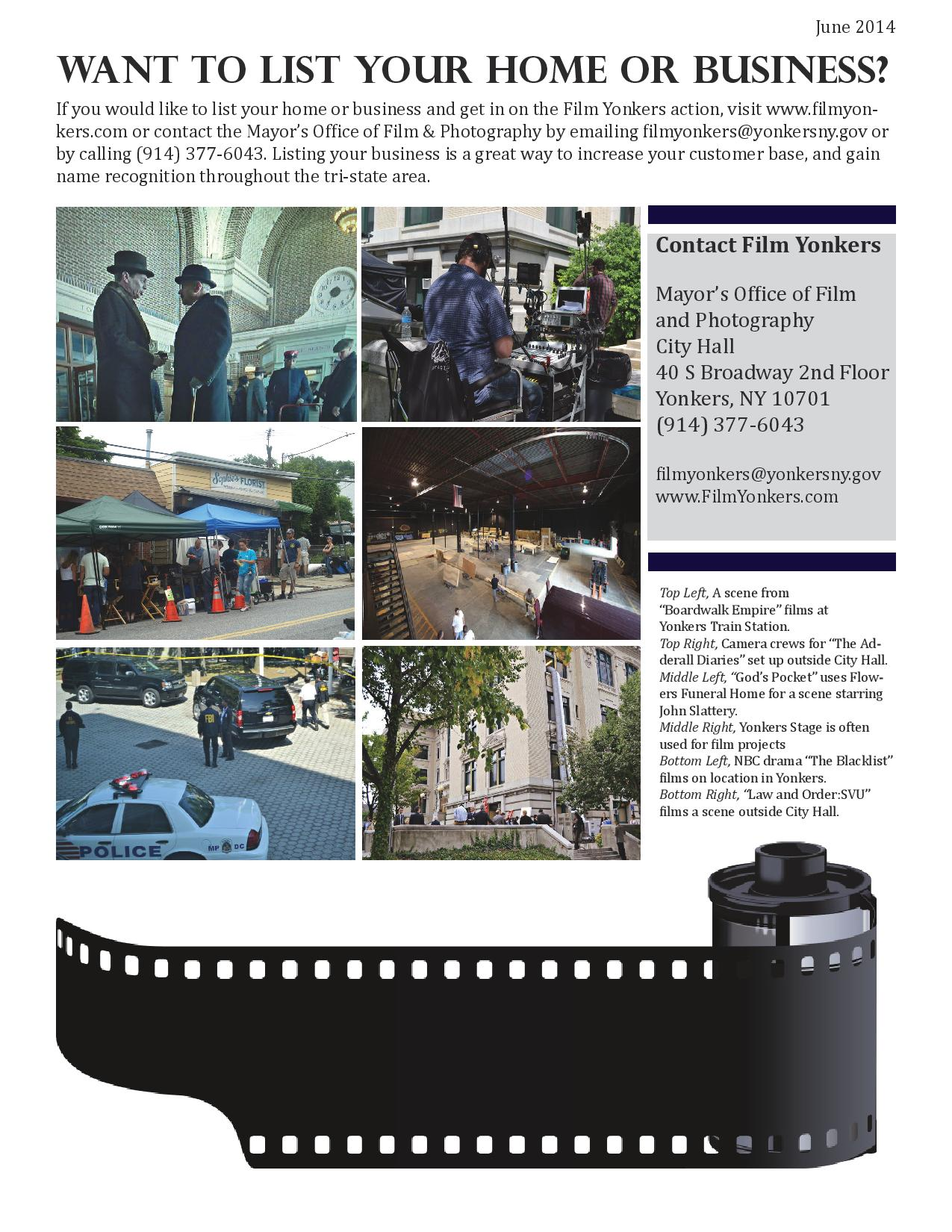 Film Yonkers June Newsletter Page 3