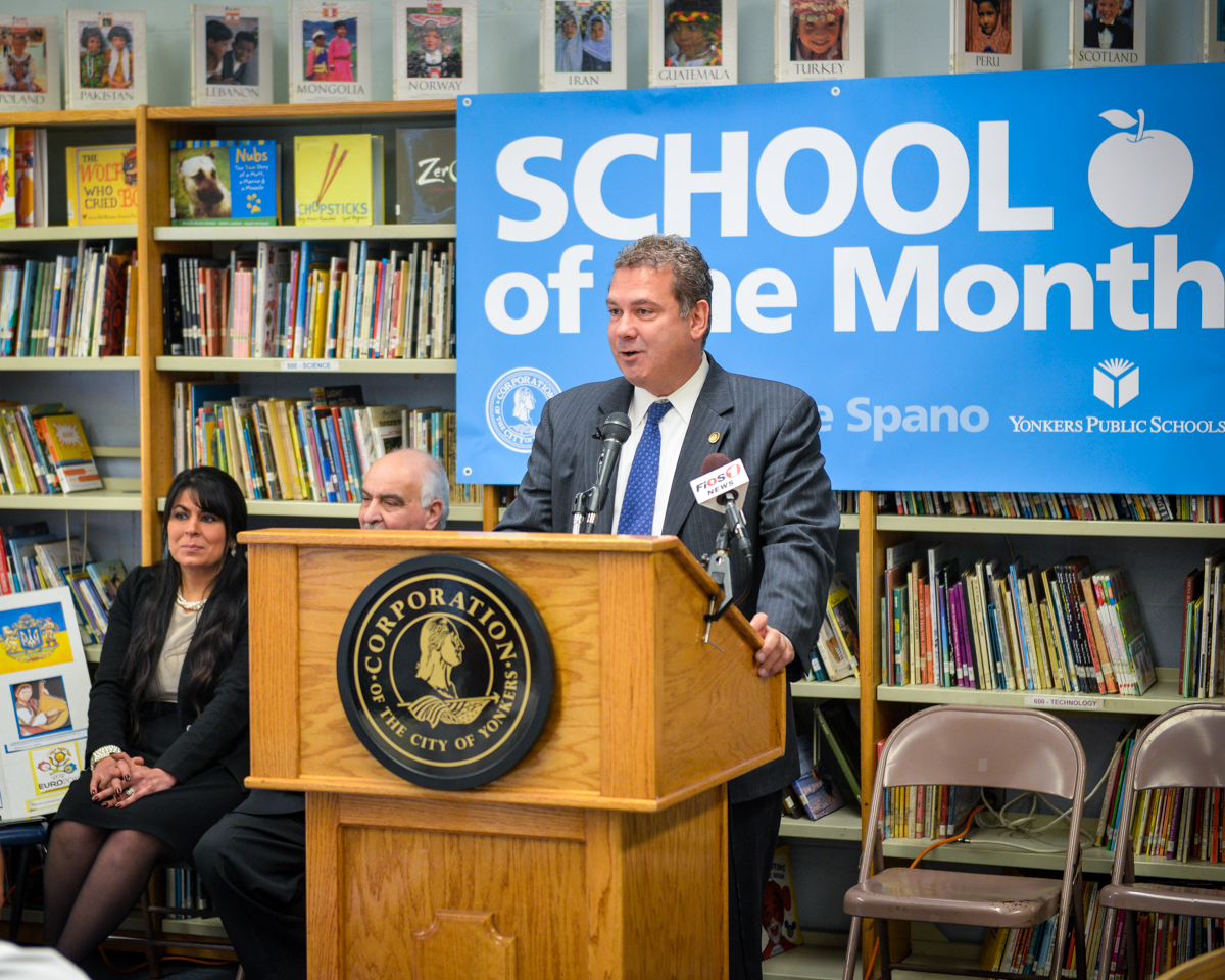 Mayor Spano names Montessori 27 October 2014 School of the Month