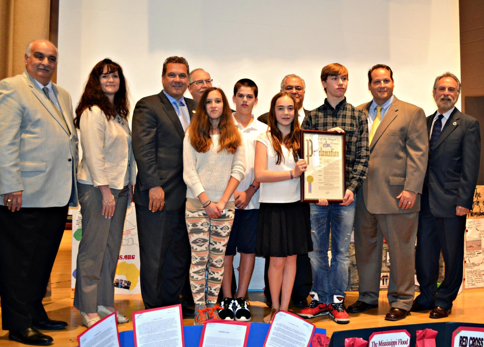 Mayor Spano names Paideia School 15 May 2014 School of the Month