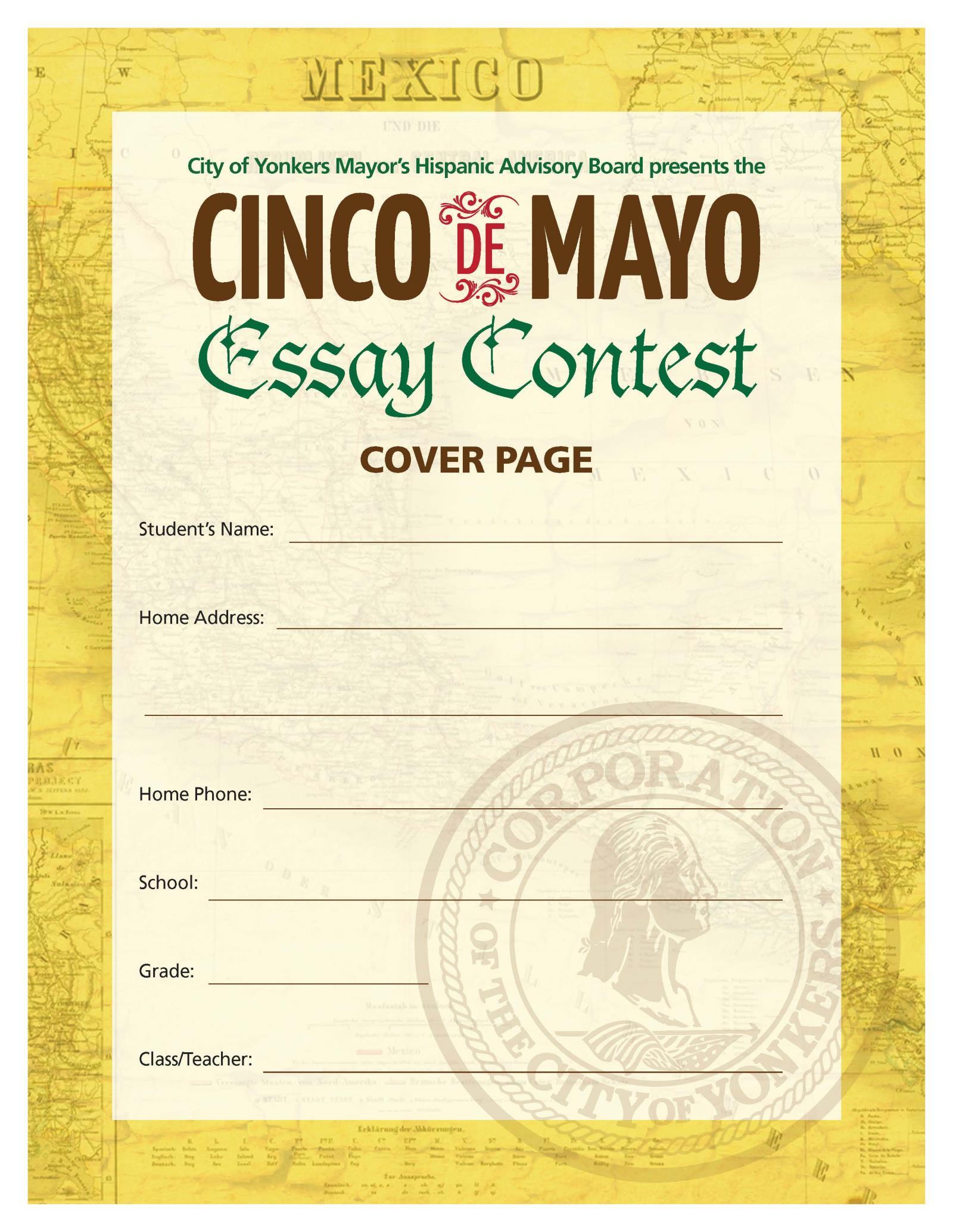 Cinco de mayo essays