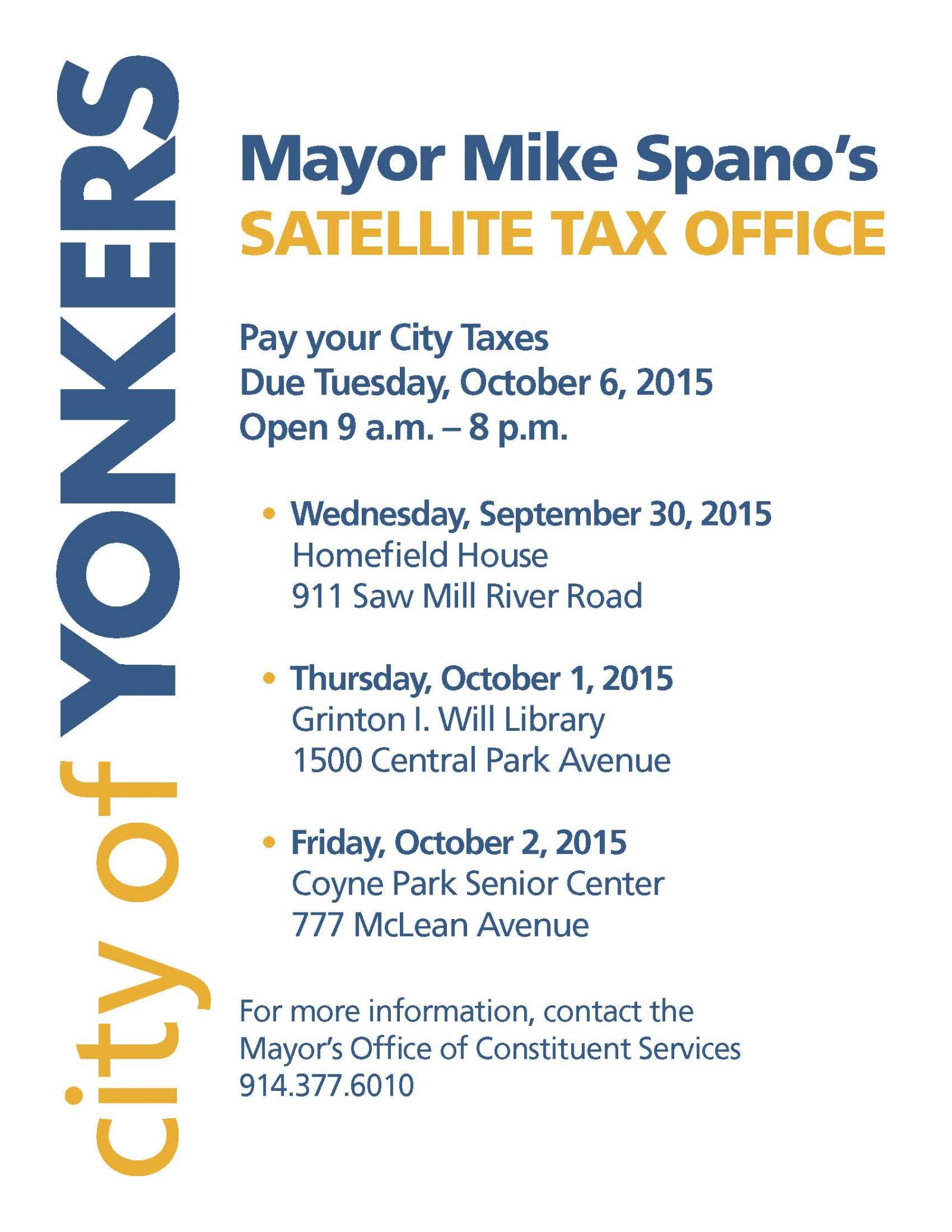 Yonkers City Hall Property Tax