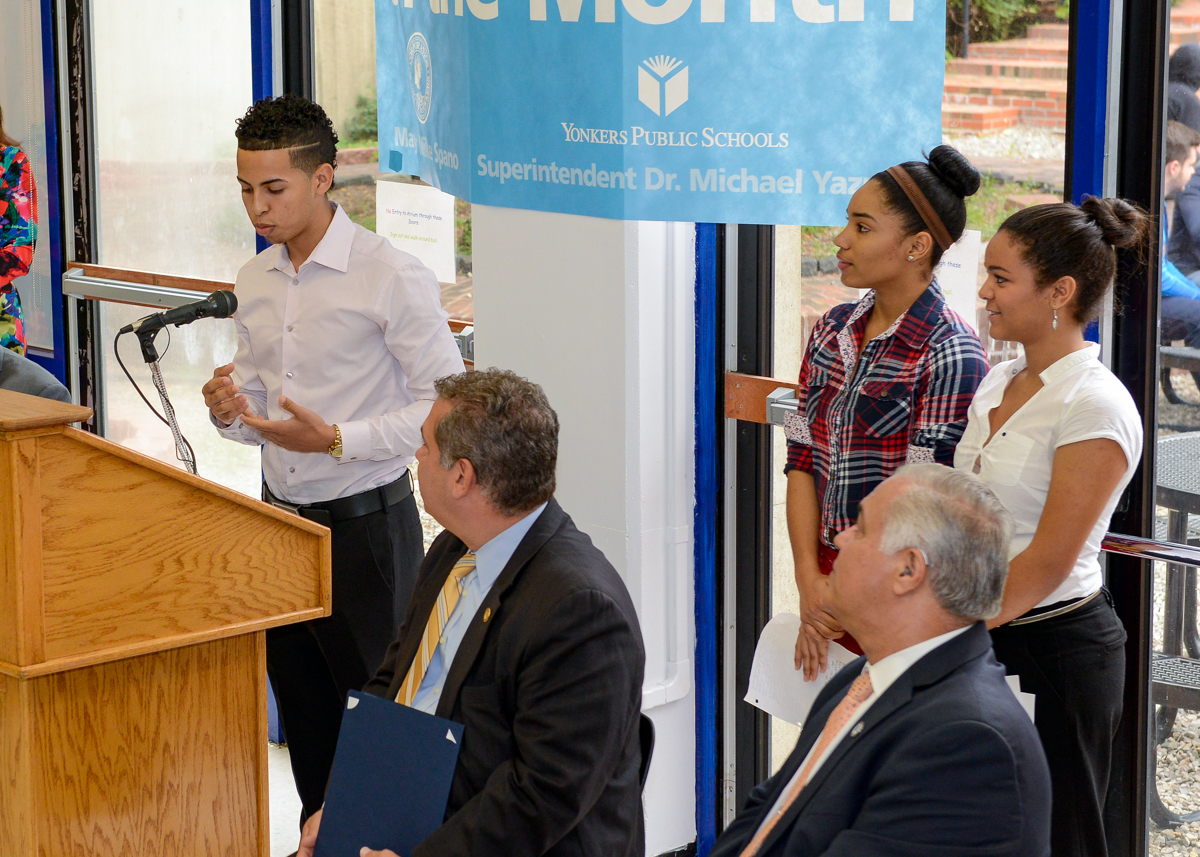 ... Mayor Spano names Riverside High School March 2014 School of the Month  ...