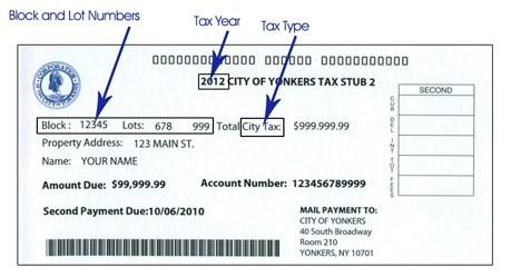 City tax city of yonkers ny city tax image reheart Choice Image