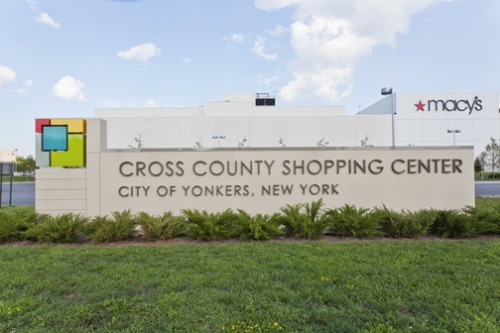 Cross County Shopping Center signage