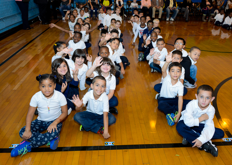 School 17 2nd Grade Students