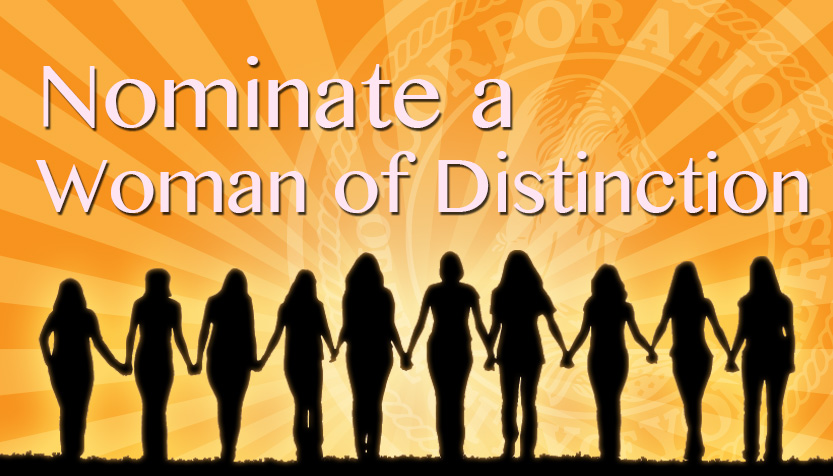 Women of Distinction - banner