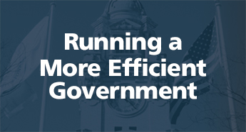 Running a More Efficient Government
