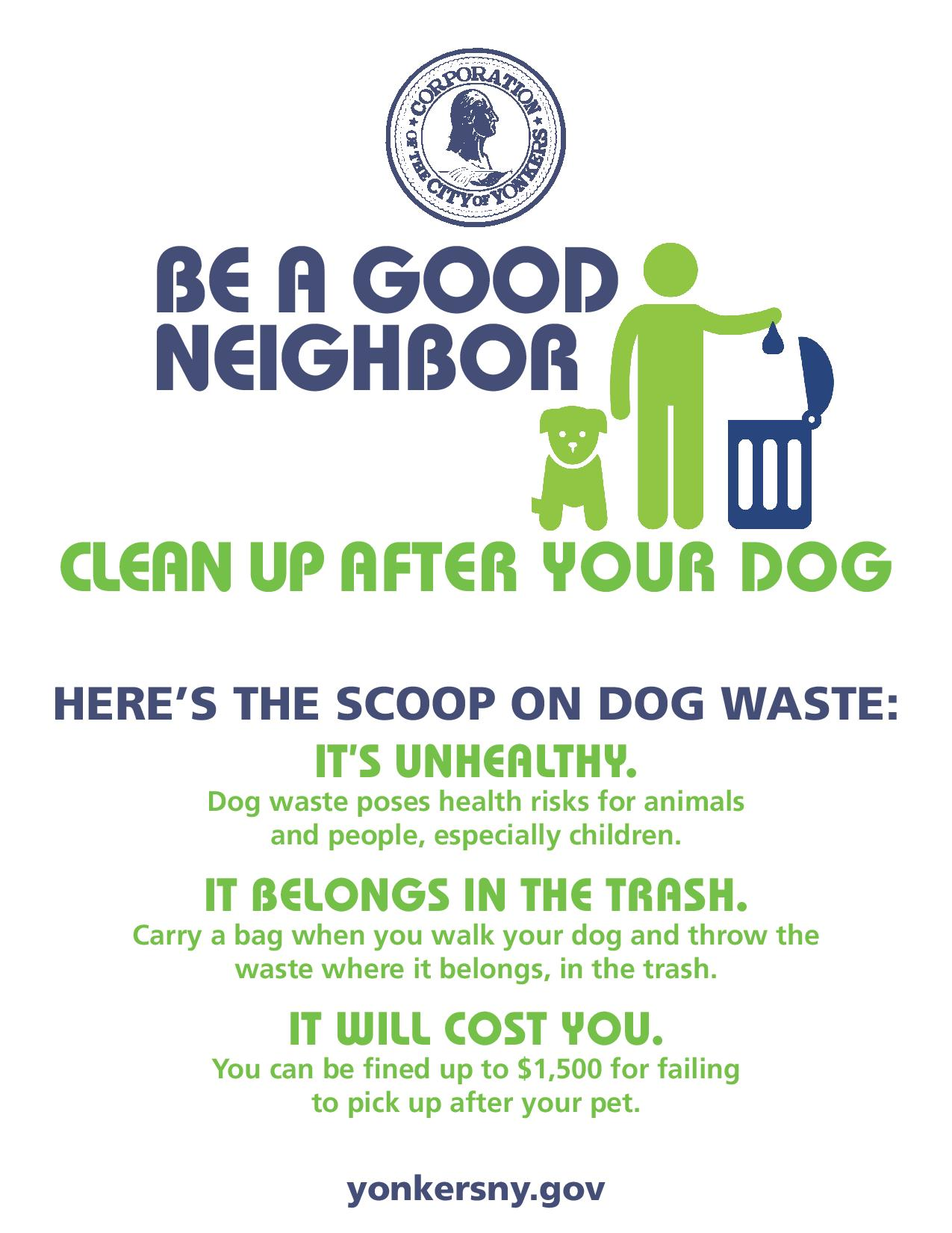 Be A Good Neighbor - English