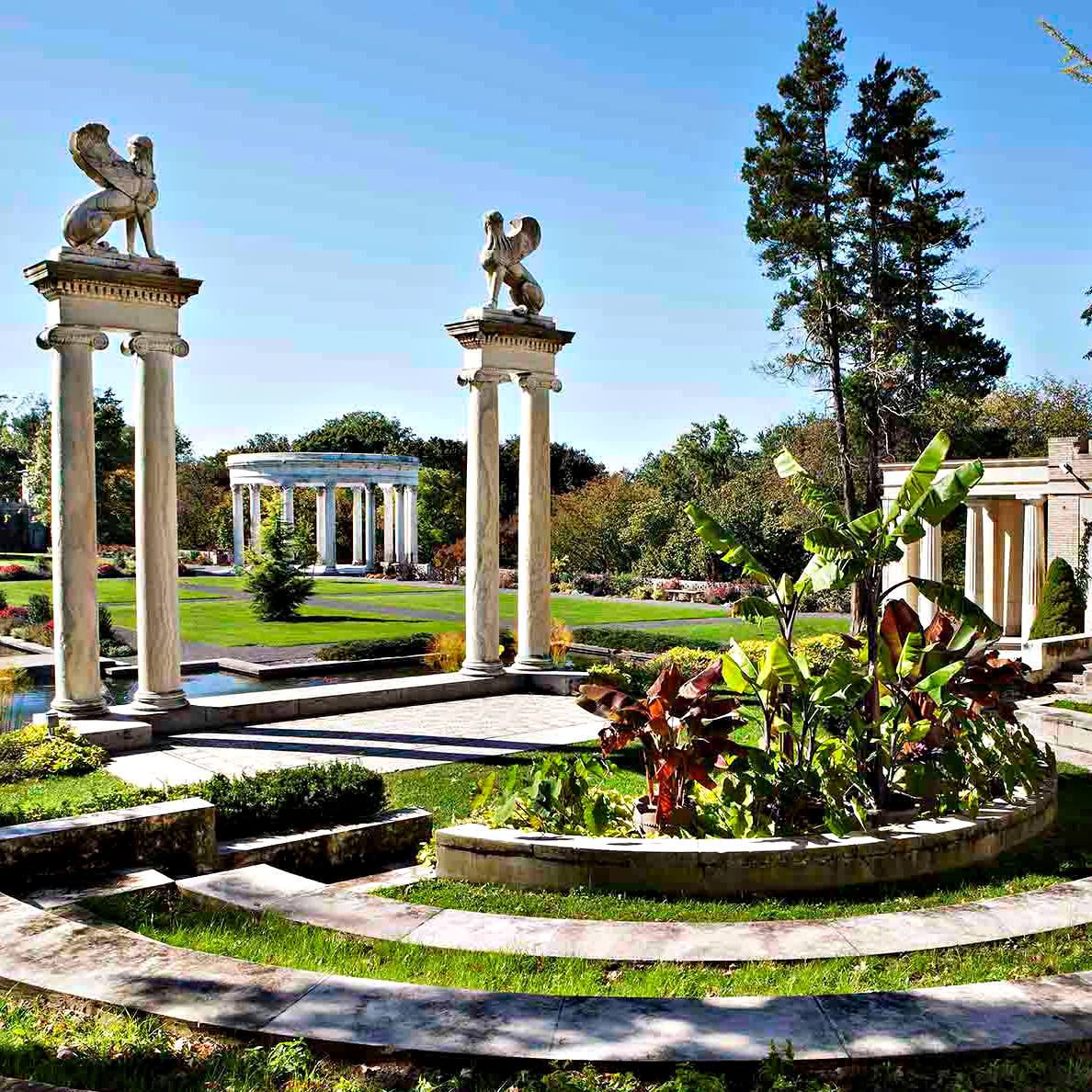 Garden Statues Yonkers: Parks & Facilities
