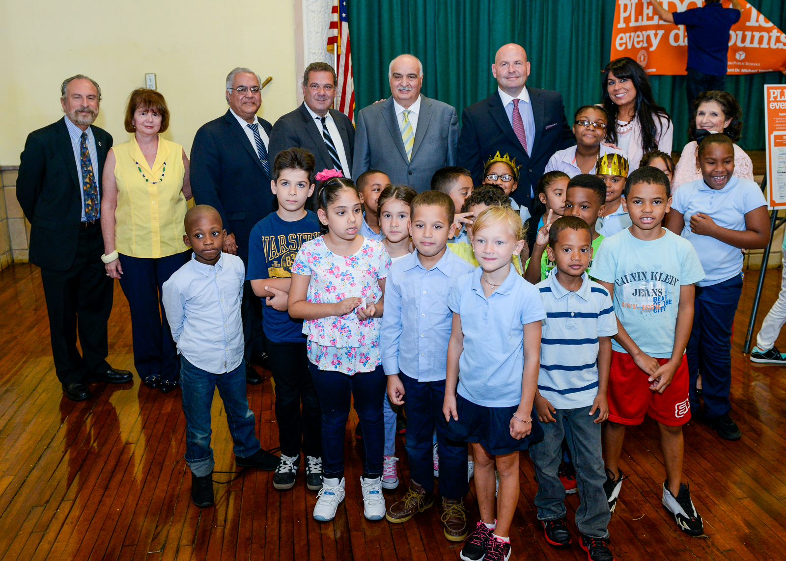 Mayor Spano and City and School Officials Visit School 23