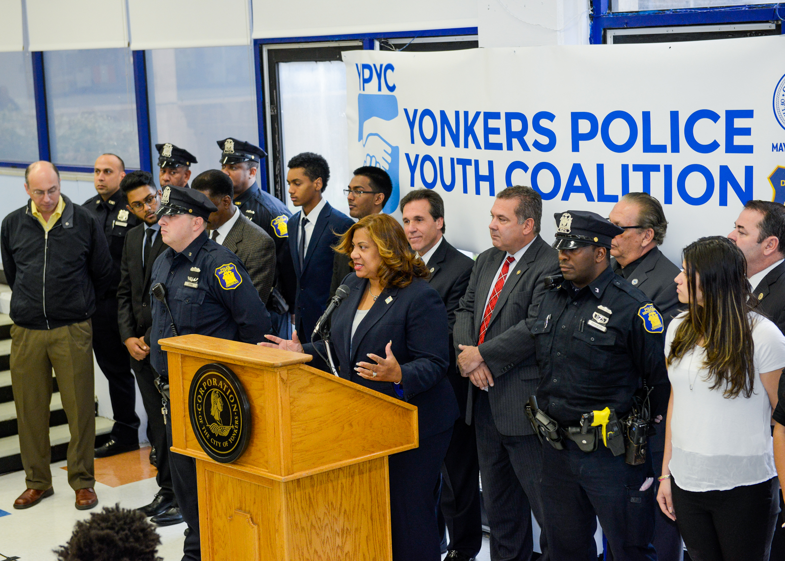 Yonkers Police Youth Coalition Announcement
