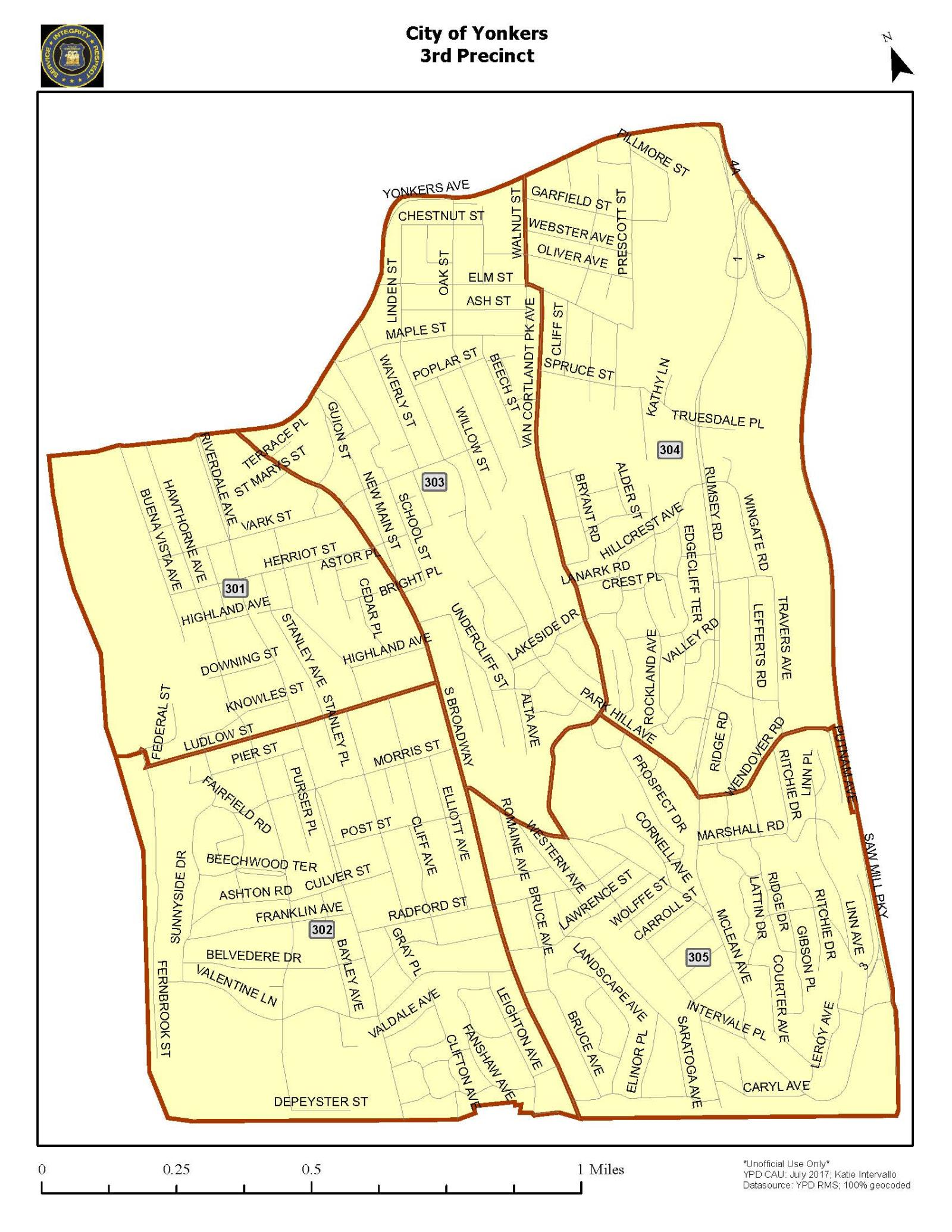 Yonkers Parking Tickets >> 3rd Precinct 435 Riverdale Ave City Of Yonkers Ny