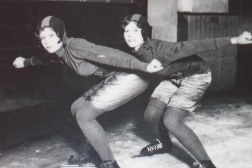 Lilian and Ruth Corke
